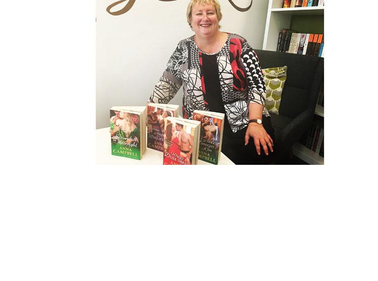 Author Anna Campbell talks Regency Romance