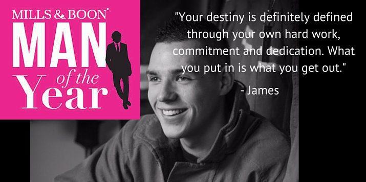 MOTY2016 Up Close & Personal: Meet James