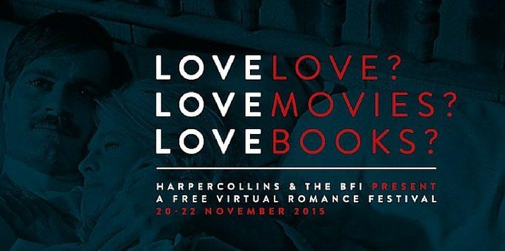 HarperCollins and BFI virtual romance festival