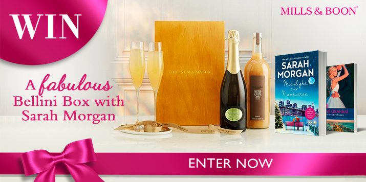 Win a Bellini Box and Sarah Morgan's latest book!